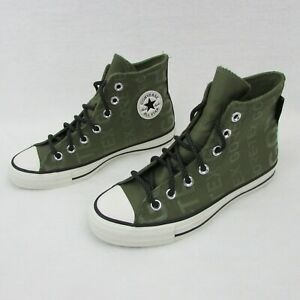 Converse-Chuck-Taylor-All-Star-Shoes-Olive-Green-Gore-Tex-Branded-Sz-3-5-Eur-36