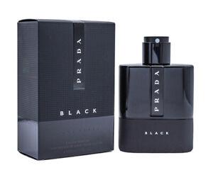 Prada Luna Rossa Black by Prada 3.4 oz EDP Cologne for Men New In Box