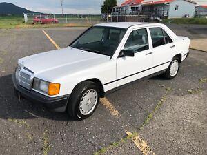 1987 Mercedes-Benz 190 190 D