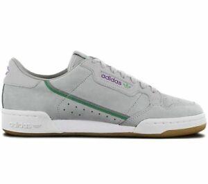 adidas Originals Continental 80 Herren Sneaker EE7268 Sport Freizeit Schuhe Grau