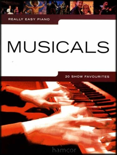 Really Easy Piano Musicals 20 Show Favourites Music