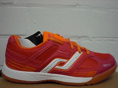 Intersport Kinder Hallenschuh Courtplayer jr. 239574-905 coralle-orange SALE NEU