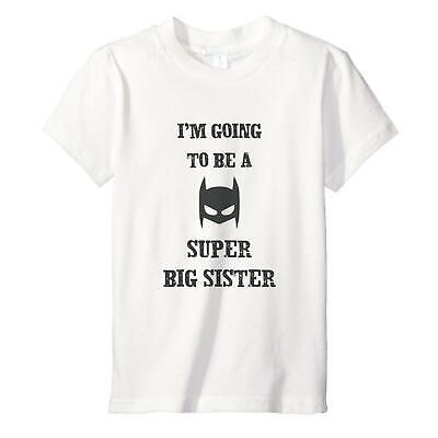 2-12 years Super Big Brother Sister-Fun Kids Toddler T-Shirt