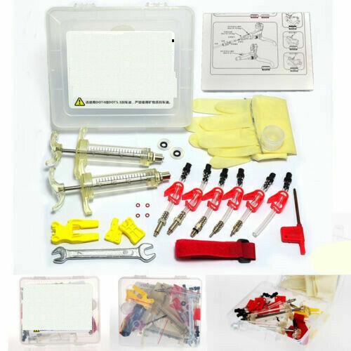 Bicycle Hydraulic Disc Brake Bleed Kit Tool for SRAM AVID Formula ELIXIR HAYES