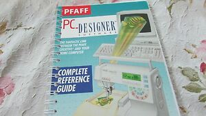 PFAFF Creative 7570 Instruction Manual Genuine Printed in Germany