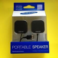 Samsung ASP600 Portable Stereo Mini Speakers for S 20 Pin Mobile Phone Original