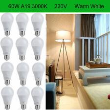 1000m Warm White, SunSun Lighting A19 LED Light Bulb 75W 12W Dimmable 3000K