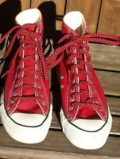 Vintage Near Mint 1980's Converse Made in USA Chuck Taylor All☆Star Red Hi Tops