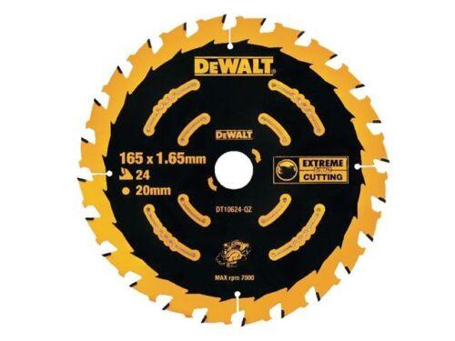 Dewalt DT10624 EXTREME Cordless Framing Circular Saw Blade 165x20x24T
