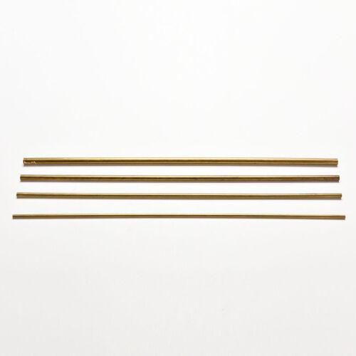 1X Brass Tube Pipe Tubing Round Inner 2mm ~ 5mm Long 300mm Wall 0.5mm TYUKRDHN