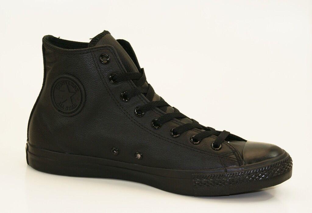 Converse Chuck Taylor All Star Leather Hi Zapatillas zapatillas Hombre Mujer