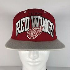 the latest b5a7e b9af0 item 1 Mitchell   Ness DETROIT RED WINGS Men s Snapback Hat Adjustable Cap  Red White -Mitchell   Ness DETROIT RED WINGS Men s Snapback Hat Adjustable  Cap ...