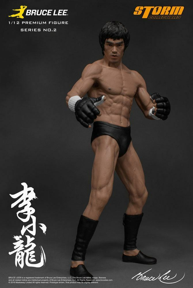 The MARTIAL ARTIST SERIES 02  BRUCE LEE Iconic MMA Outfit 1 12 STATUE STORM COLL