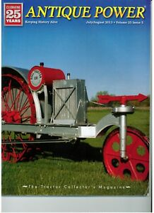 End of Era Threshing Canada Farmers Co-Op Gibson Model E Little Bull Tractor