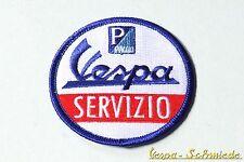 """VESPA Aufnäher """"Servizio"""" - V50 PK PX PV GT TS GL GS Sprint Rally Piaggio Patch"""