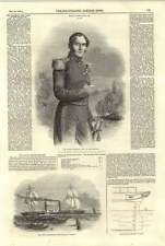 1844 His Majesty Leopold King Of The Belgians Steam Frigate Janus