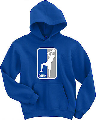 "Dirk Nowitzki Dallas Mavericks /""Old School Logo Text/"" T-Shirt"