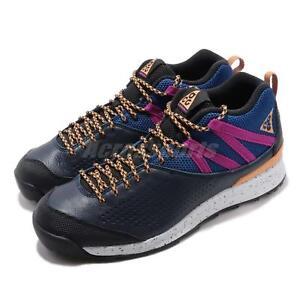 new styles e61a5 e4fa5 Image is loading Nike-ACG-Okwahn-II-2-Obsidian-Navy-Orange-