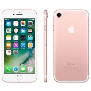 APPLE-IPHONE-7-32GB-ROSA-ROTTO-DIFETTOSO-SCHEDA-MADRE-PEZZI-DI-RICAMBIO