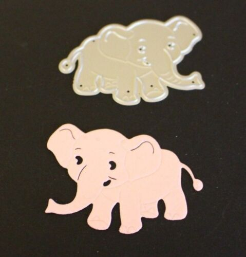 Elephant Metal Cutting Die Brand New Cardmaking Memory Books