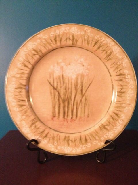 """""""Narcissus"""" by Cheri Blum for 222 Fifth PTS  12-5/8"""" Platter/Chop Plate"""