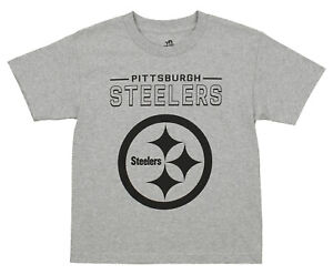 ac6983e3 Details about Outerstuff NFL Youth Pittsburgh Steelers Short Sleeve Fan  Base Tee