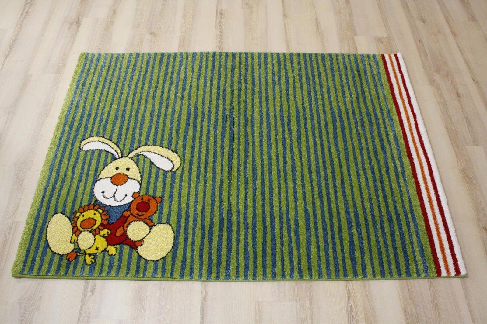 Tapis pour Enfants Tapis de Jeu Sigikid Sk-0527-02 Bunny 80x150 cm Vert