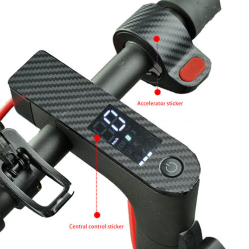 2x Scooter Stickers Control Panel Center Fit For Xiaomi M365 //Pro Accessories