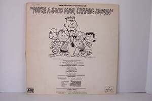 New Original TV Cast Album You're A Good Man Charlie Br