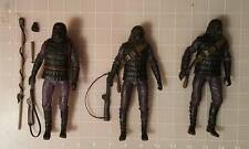 Neca Planet of the Apes - Gorilla Soldier Lot of 3 Figures and Accessories