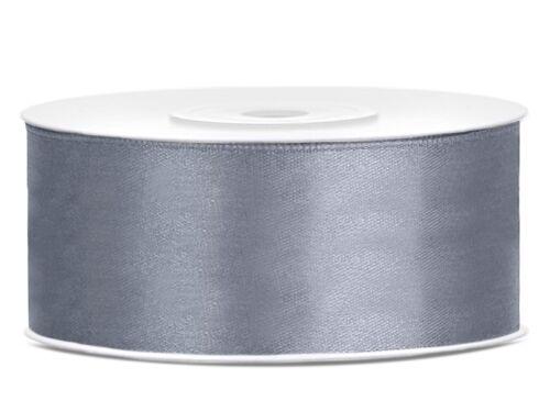 12mm//25m SATINBAND Schleifenband Dekoband Hochzeit Geschenkband