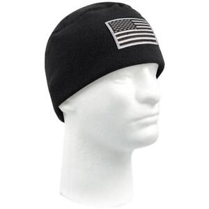 Buy Black Military Winter Polar Fleece Hat Beanie Watch Cap Rothco ... 3eeab809be6
