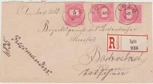 Kingdom-of-Hungary-1893-R-Cover-Iglo-Zipser-Neudorf-Spi-ska-Nova-Ves-Slovakia