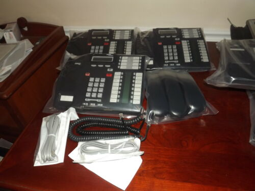 clean READY TO USE AVAYA  NORTEL,NORSTAR  T7316E PHONE  REFURBished w//CORDS