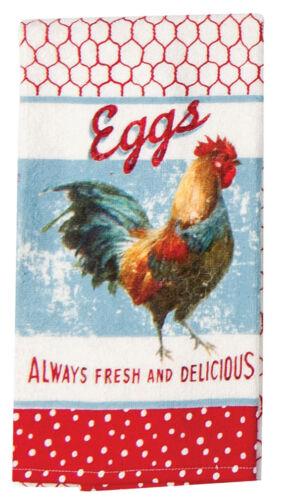 Kay Dee Designs FARM NOSTALGIA Cotton Terry Cloth Kitchen Tea Towel