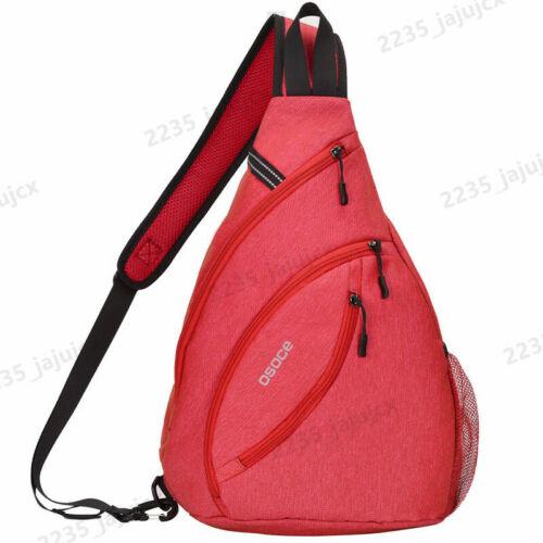 Men Women Sling Bag Shoulder Chest Bag Crossbody bag Cycle Pack Satchel Backpack