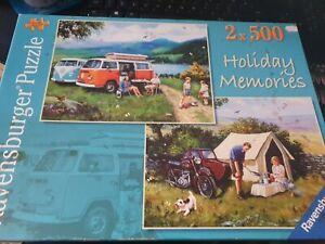 Ravensburger-2-x-500-Pezzi-Puzzle-ricordi-delle-vacanze