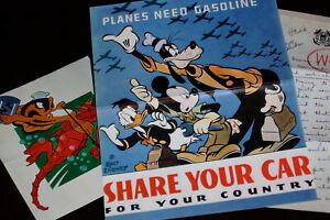 Walt Disney Studio Archives WWII War Insignia Hank Porter Coast Guard 1942 2003