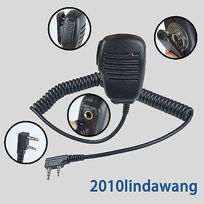 1-wire Headset Earpiece mic For Kenwood TK2212 TK2312 TK340D NX340 Portable