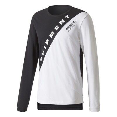 fascismo Drama Obediencia  NEW Adidas Equipment EQT Burnside ADV 91-17 Men's Shirt Black White BQ2096  BOOST   eBay