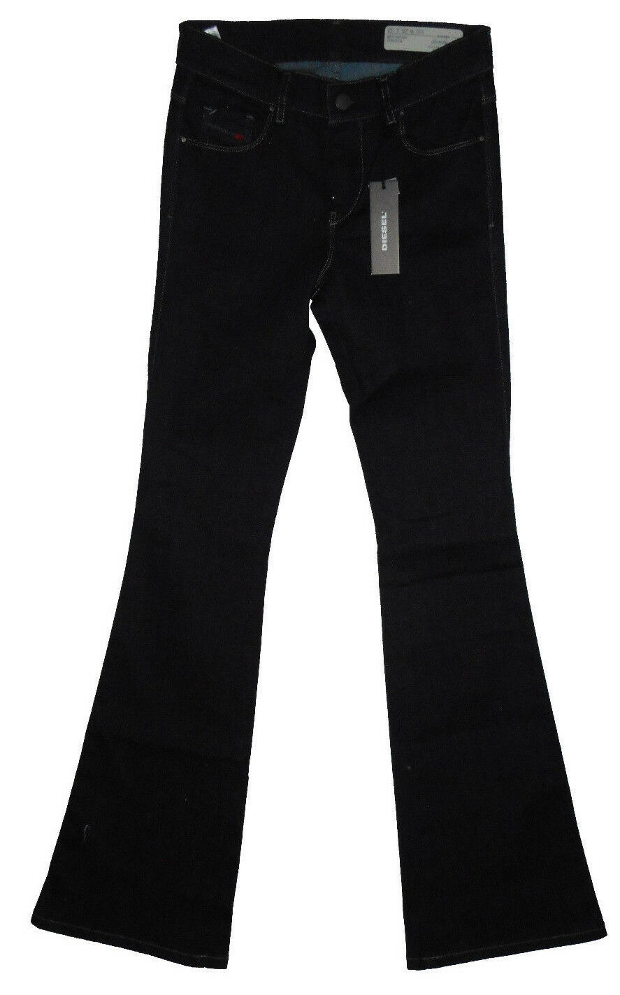 Diesel SANDY-B 0665W Reg Slim Bootcut  W25 L32 Ladies Navy Stretch Denim Jeans