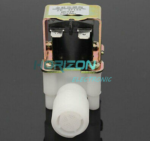 """DC 12V Electric Solenoid Valve Magnetic  N//C Water Air Inlet Flow Switch 1//2/""""Top"""