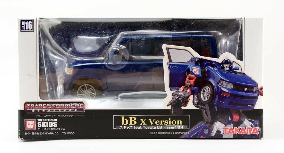Transformers Binaltech BT-16 Skids Scion MISB