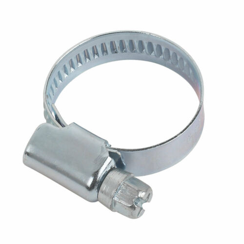 Hose Clips Pipe Clamps Jubilee Type Fuel Zinc Steel Worm Drive Not Stainless Hex