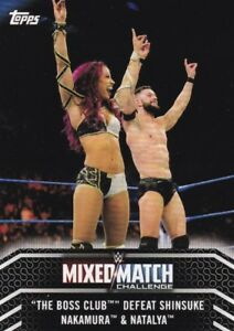2018-Topps-Wwe-de-Mujer-Division-Mapas-Mixto-Match-MM-13-The-Boss-Club