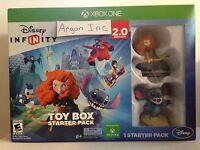 Disney Infinity 2.0 Toy Box Starter Pack Xbox One Game Bundle Sealed