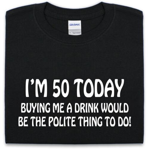 50th Funny Birthday T Shirt S-XXL Mens Womens