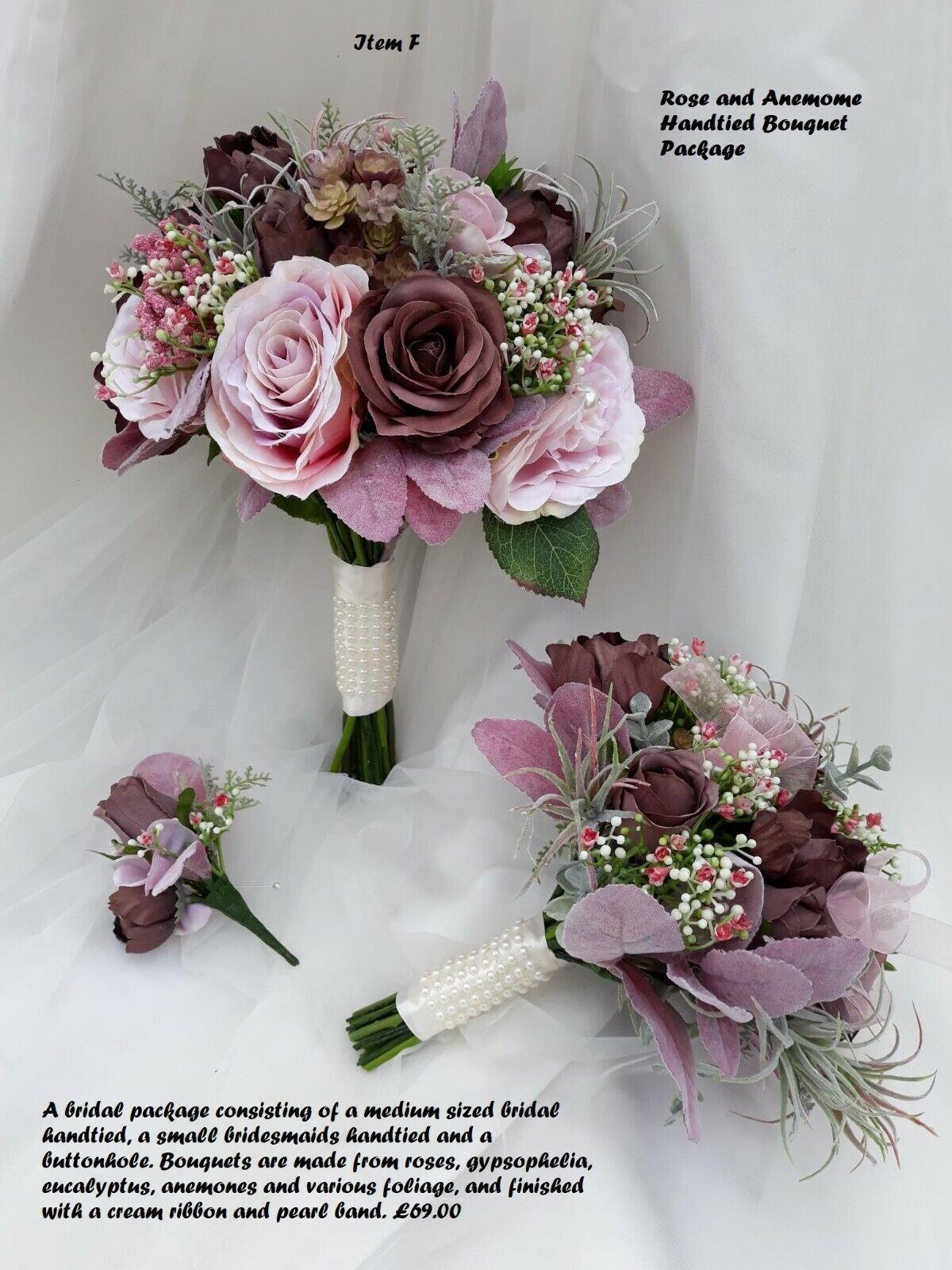 Designer Wedding Flowers - High Quality Artificial