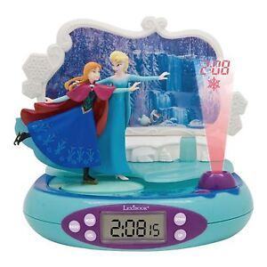 disney frozen radio alarm clock projector with night light lexibook kids 3380743044903 ebay. Black Bedroom Furniture Sets. Home Design Ideas