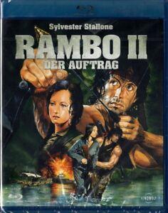 RAMBO 2 II, Der Auftrag (Sylvester Stallone) Blu-ray Disc NEU+OVP OHNE FSK-Logo! - Oberösterreich, Österreich - RAMBO 2 II, Der Auftrag (Sylvester Stallone) Blu-ray Disc NEU+OVP OHNE FSK-Logo! - Oberösterreich, Österreich